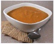 Soupe de carottes au gingembre et à la cardamome