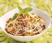 Spaghetti au pesto de tomates séchées