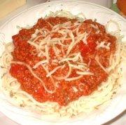 Italian spaghetti sauce (Franden)