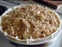 Apple pie Dutch style