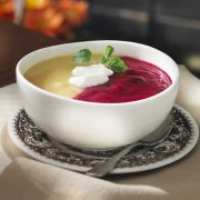 Contrasting Beet Soup
